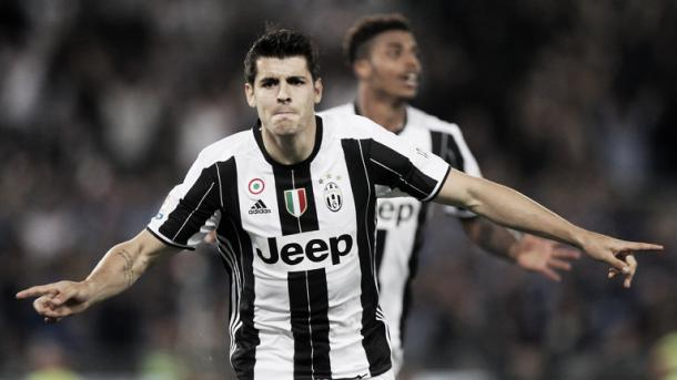 Above: Alvaro Morata in action for his current club Juventus | Photo: Sky Sports