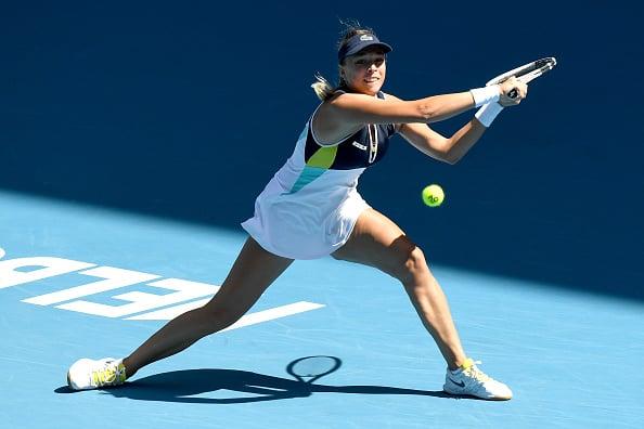 Kontaveit reached her first Grand Slam quarterfinal in Australia (Photo:Morgan Hancock)