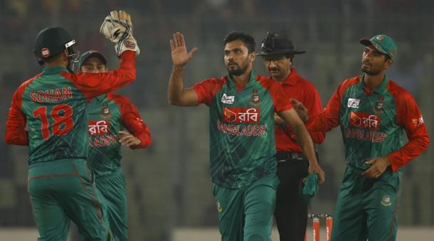 Mortaza's leadership earned him a place in the top three (Getty Images)