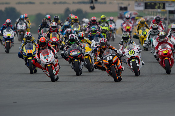 Carrera de Moto2 en Sachsenring 2011 | Foto: Mirco Lazzari - Getty Images