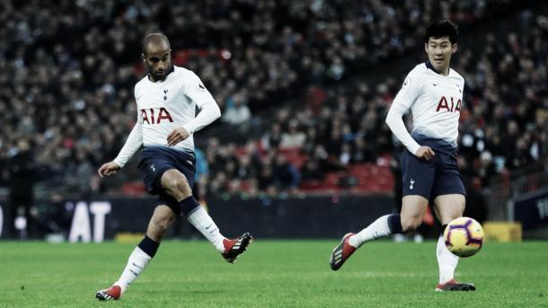 Moura puso el 3-0. Foto: Premier League.