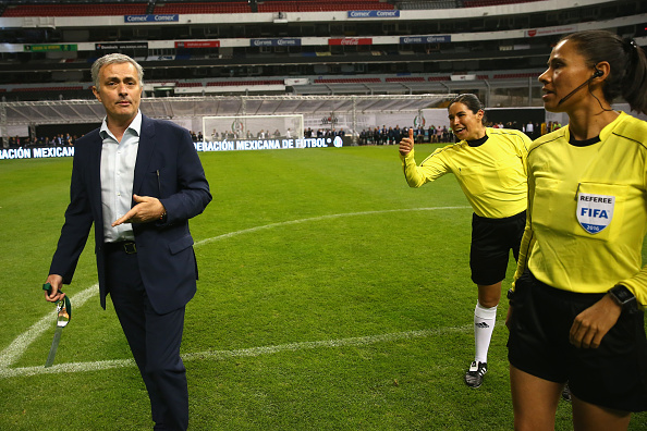 Mourinho at the FIFA Legends game | Photo: Alexander Hassenstein - FIFA/FIFA via Getty Images