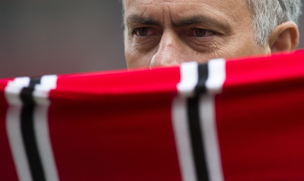 Mourinho has already taken charge of his first match, a 2-0 win - Wigan | Photo: Oli Scarff/AFO