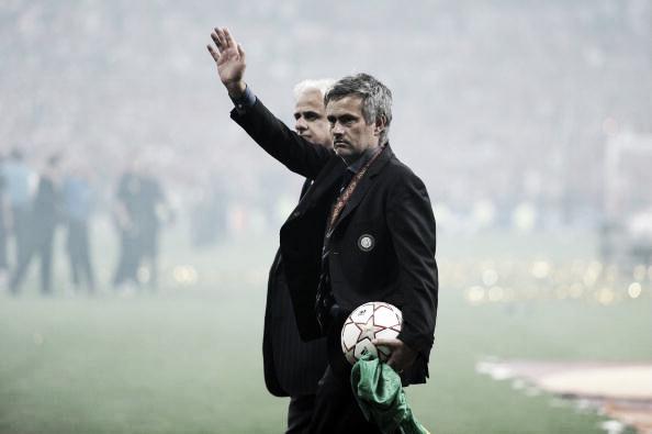 Mourinho fez a Inter conquistar o 'triplete' em 2009/10: Champions, Serie A e Copa Itália (Foto: Jasper Juinen/Getty Images)