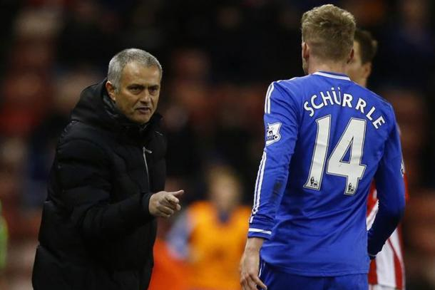 Schurrle worked under Mourinho at Chelsea (Photo: Getty Images)