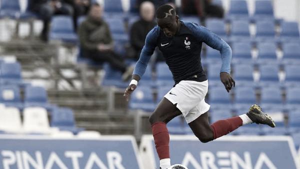 Moussa Diaby vistiendo el uniforme de la selección francesa U20 | Foto: PSG.fr