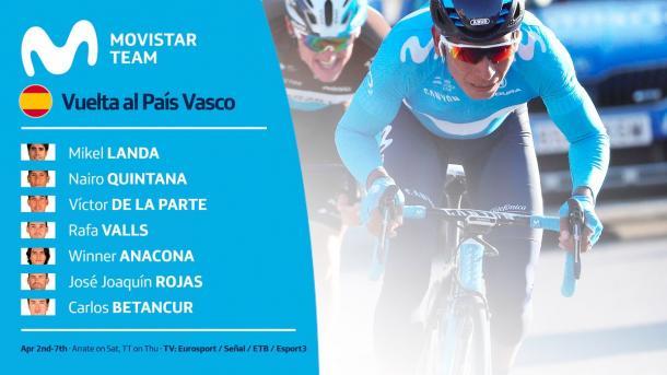 Foto: Team Movistar (Twitter)