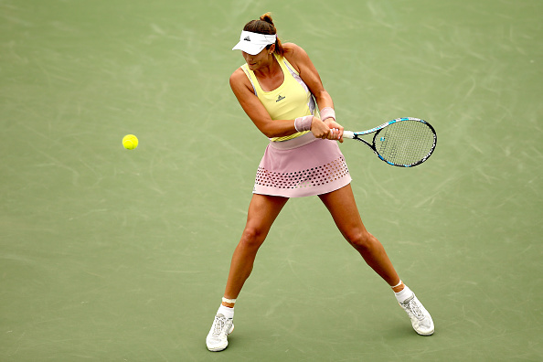 Muguruza in second round action (Getty Images/Matthew Stockman)