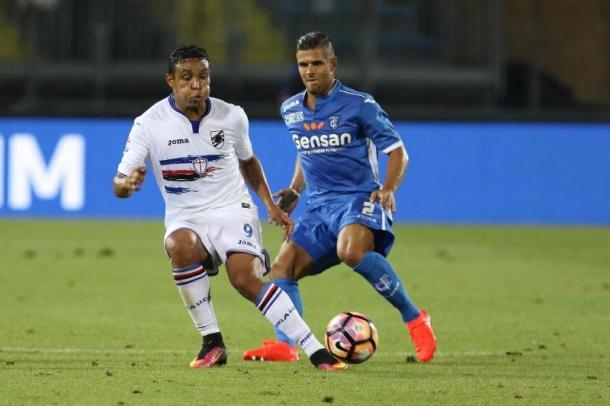 Muriel contro l'Empoli, sampdorianews.net