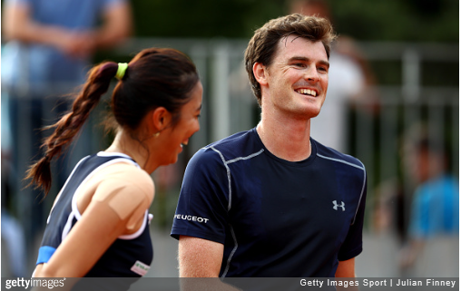 Hao-Ching Chan and Murray (Source: Getty)