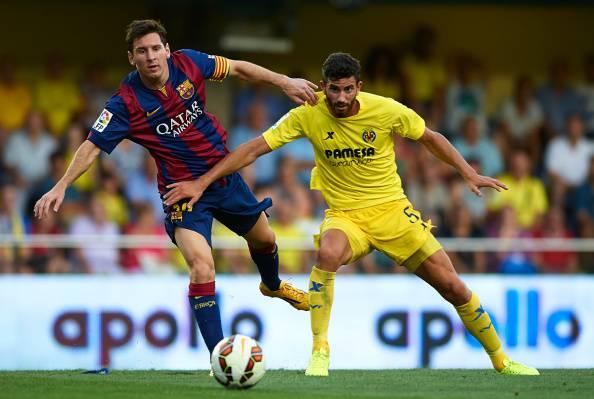 Musacchio a contrasto con Messi, milanlive.it