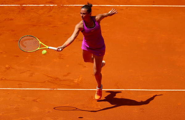 Roberta Vinci's forehand was working well today, but not at the crucial moments | Photo: Clive Rose/Getty Images Europe