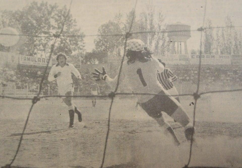 El Tomba debutó el 21 de julio de ese año con un partido entretenido ante San Martín por 3-2. Foto: prensa Godoy Cruz.