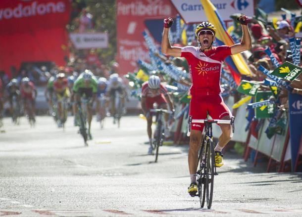 Su gran triunfo fue en la Vuelta a España   Foto: Vuelta a España