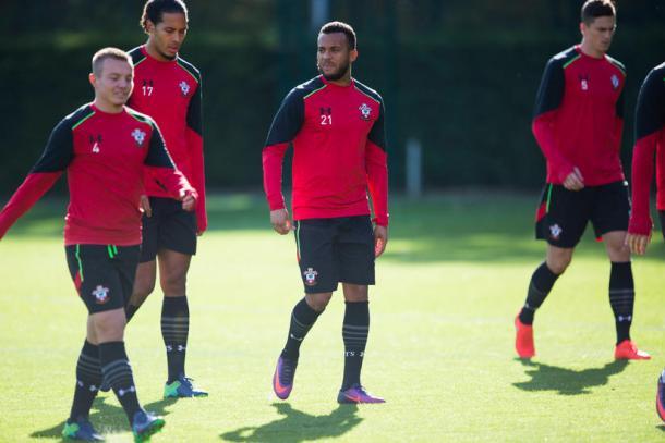 I Saints in allenamento - Fonte: southamptonfc.com