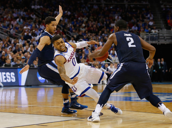 Villanova dispossessed Mason III in the final seconds to seal the win (Photo: Kevin C. Cox/Getty Images).
