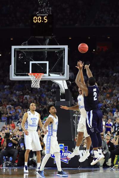 Jenkins drained the game-winner for Villanova as the clock expired (Photo: Ronald Martinez/Getty Images).