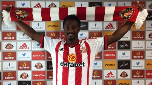 N'Doye has scored just one goal since arriving on loan at the turn of the year. (Photo: Sunderland AFC)