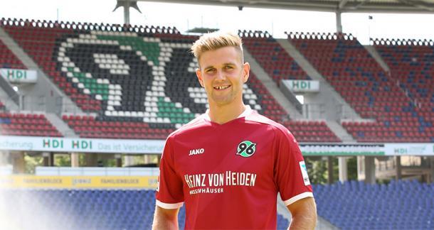 Füllkrug is H96's star signing. | Image credit: Hannover 96