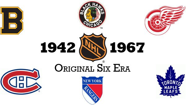 Los Seis Originales | Foto: hockeysiteincanada.com