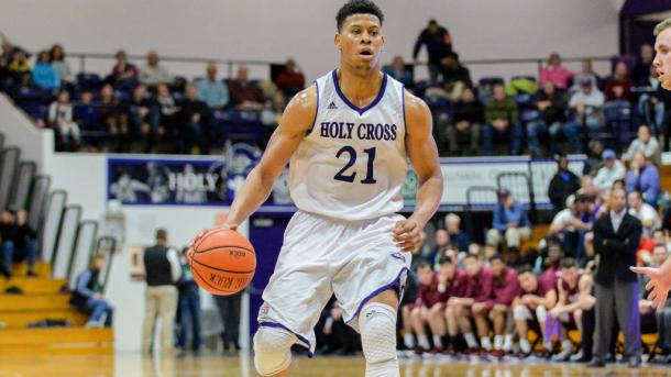 Alexander led Holy Cross through a magical run to the Patriot League crown last year and is back for one more opportunity to do it again/Photo: Mark Seliger