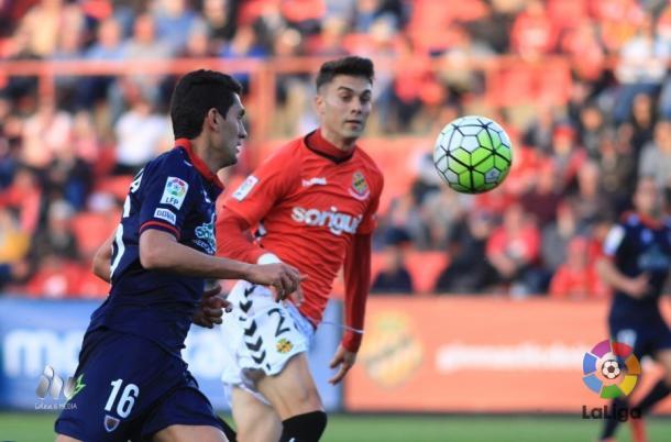 Naranjo fue el asistente en el 1-0 | Foto: LFP.