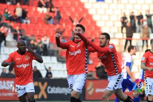 El gol de Naranjo igualó el partido   Foto: LaLiga.