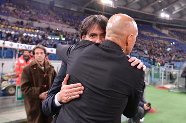 Lazio roma 2-0, getty images