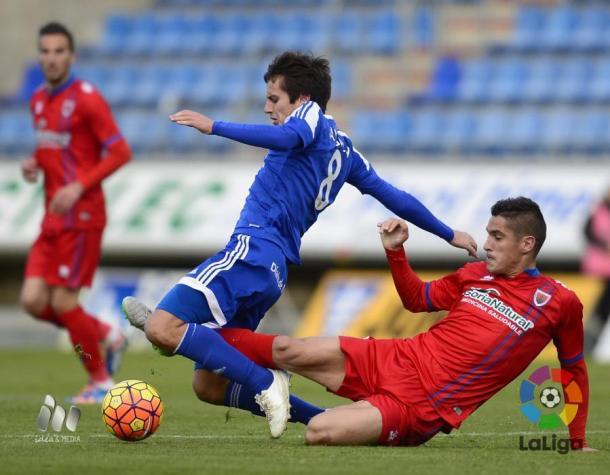 El encuentro de la primera vuelta fue un 'ordago' ofensivo de ambos equipos, terminando en empate. (Foto: LFP)