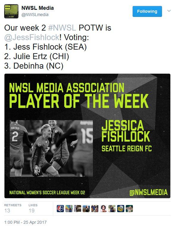 The voting breakdown | Source NWSL Media Twitter - @NWSLmedia