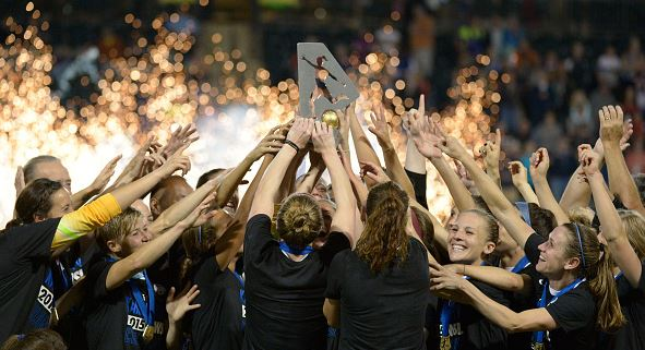 The first game will feature two-time defending NWSL Champions FC Kansas City against the Chicago Red Stars on September 7, 2016 / Steve Dykes - Getty Images