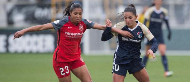 Midge Purce misses even more time with ankle sprain | Photo: Portland Thorns