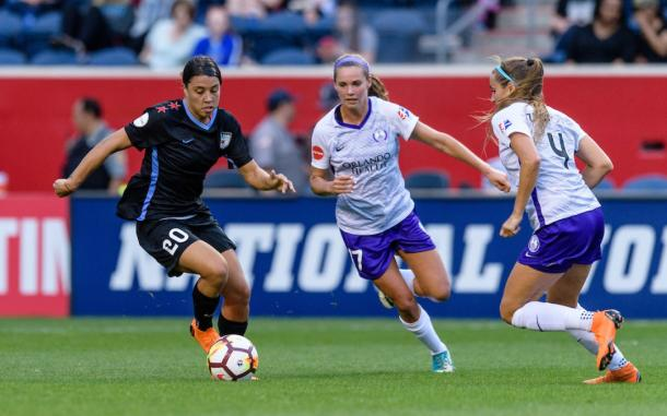 Sam Kerr has been in great form all season | Source: nwslsoccer.com