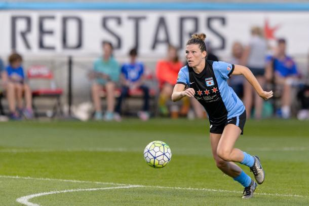 Arin Gilliland has been a key member of the team since being drafted in 2015. Source: Chicago Red Stars