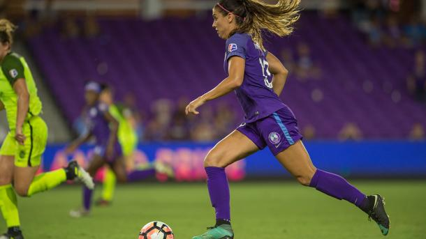 Alex Morgan had a quiet against a resilient Seattle backline | Source: nwslsoccer.com