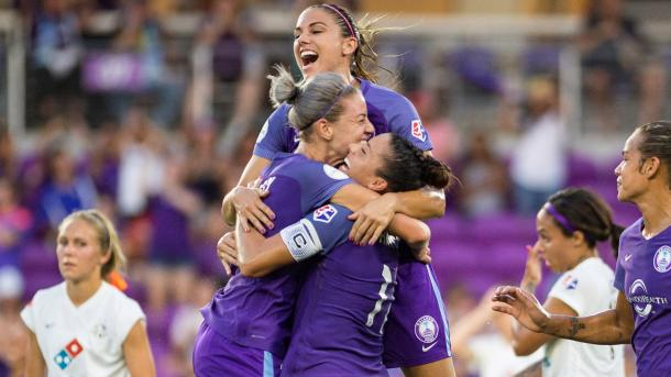 Orlando will be hoping that this is only the start of Morgan's dominance in the NWSL | Source: Jeremy Reper-isiphotos.com