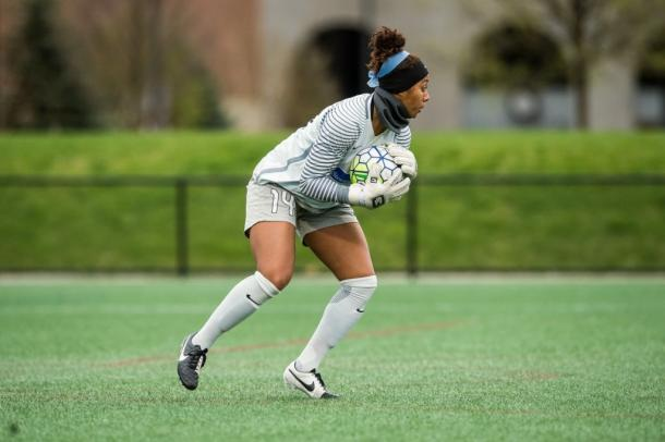 Abby Smith has continued to impress in goal this season for Boston | Source: bostonbreakerssoccer.com