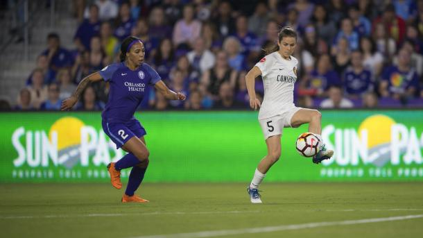 Sydney Leroux will be a big miss for the Pride | Source: nwslsoccer.com
