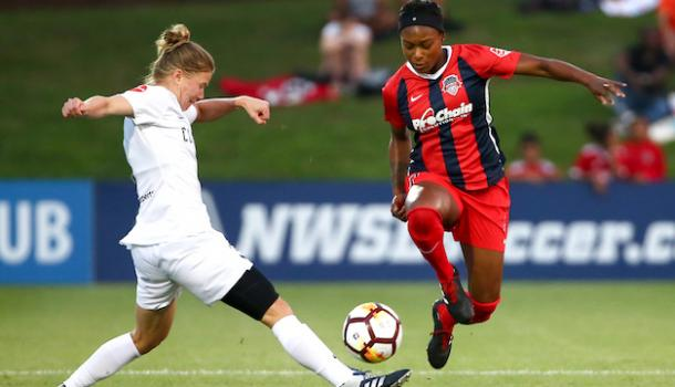 Smith was not re-signed by the Washington Spirit this year | Source: washingtonspirit.com