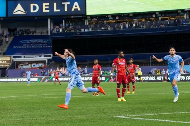 Last meeting between the two sides at Yankee Stadium. | Photo: FC Dallas