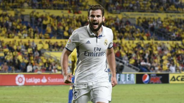 Nacho en el Real Madrid