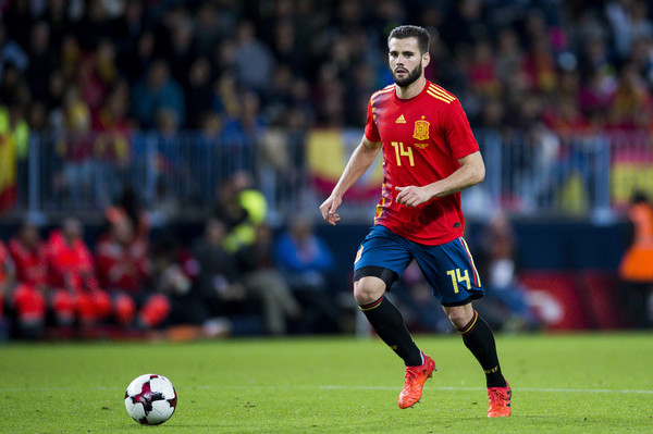 Nacho en la selección española
