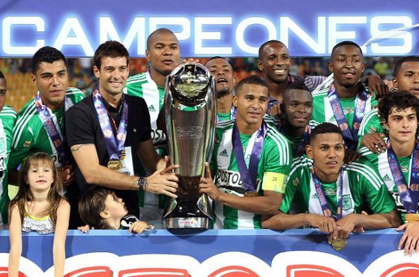 Atlético Nacional se llevó la primera Superliga colombiana en 2012. | Foto: El País