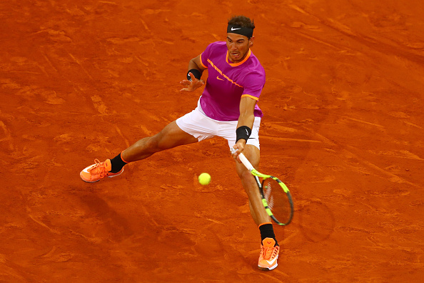 Nadal is on a 12-match winning streak and he could win his fifth title in Madrid if he continues to play at this high level (Photo by Clive Rose / Getty Images_