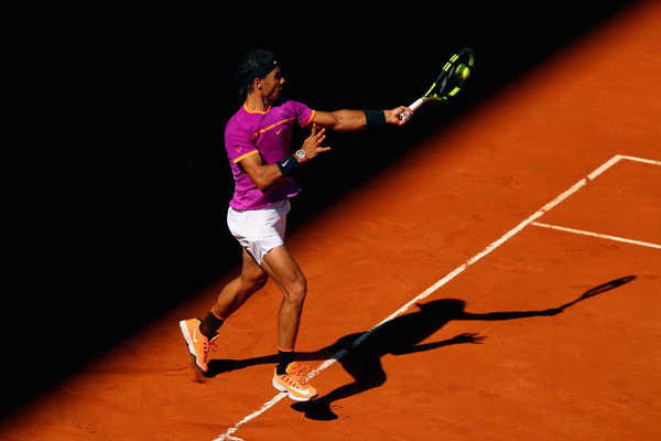 Nadal will be looking to win his third title of 2017 in Madrid (Photo by Clive Rose / Getty Images)