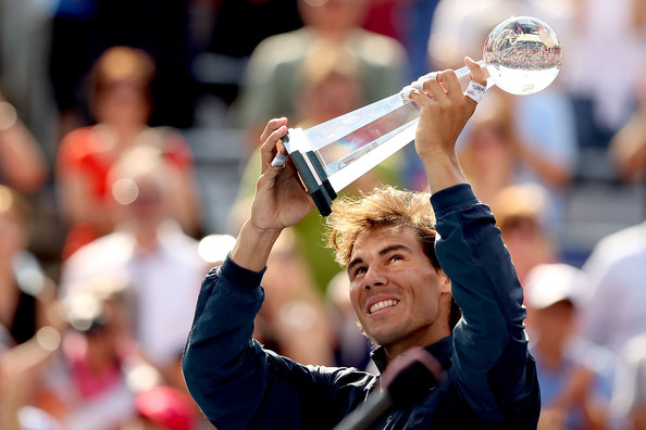 Rafael Nadal won his third Rogers Cup title back in 2013. Photo: Matthew Stockman/Getty Images
