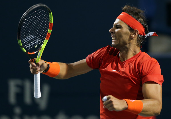 Nadal had fight like crazy to take down Cilic on Friday night. Photo: Getty Images