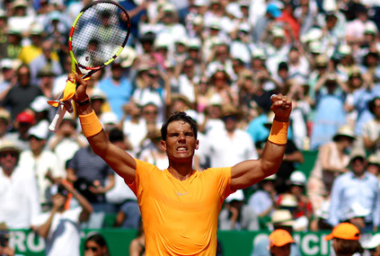 Rafael Nadal was dominated the field this week in Monte Carlo. Photo: Julian Finney/Getty Images