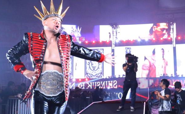 The King of strong style is headed to the WWE soon. Photo:Dailyddt.com