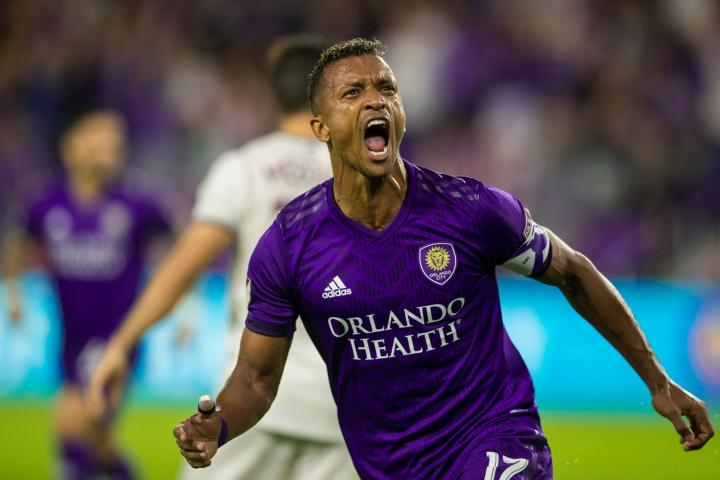 Nani celebrando un gol // Foto: Orlando